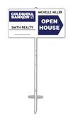 """Lowen TradeSource 12""""h x 24""""w 24 GAUGE STEEL AGENT OPEN HOUSE #1 STAKE UNIT"""