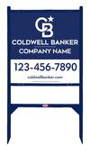 Lowen TradeSource 24h x 24w C/B .090 POLY OFFICE ANGLE IRON SIGN FRAME (GB) UNIT - BLUE FRAME