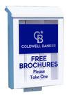 Lowen TradeSource WHITE PLASTIC YARD BOX FITS EXCLUSVIE STAKE