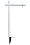 Lowen TradeSource 18X24 ALUMINUM SIGN POST (PP)-WHITE