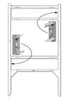 Lowen TradeSource 18h x 24w THOR 2-INSERT FRAME-WHITE