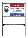 Lowen TradeSource 18h x 30w REMAX REFLECTIVE 24 GA STEEL ANGLE IRON SIGN FRAME (GB) UNIT