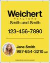 Lowen TradeSource 30h x 24w WEICHERT .150 WHITE POLY PHOTO PANEL W/GROMMETS