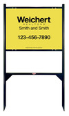 Lowen TradeSource 18h x 24w WEICHERT 24 GA STEEL OFFICE ANGLE IRON SIGN FRAME (GB) UNIT