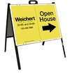 Lowen TradeSource 18h x 24w WEICHERT 24 GA STEEL OH DIRECTIONAL DELUXE ANGLE IRON A-FRAME (ST) UNIT