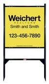 Lowen TradeSource 24h x 24w WEICHERT 24 GA STEEL OFFICE ANGLE IRON SIGN FRAME (GB) UNIT