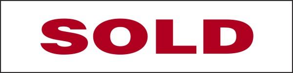Independent Realtors 174 Real Estate Sold Magnet Sign For